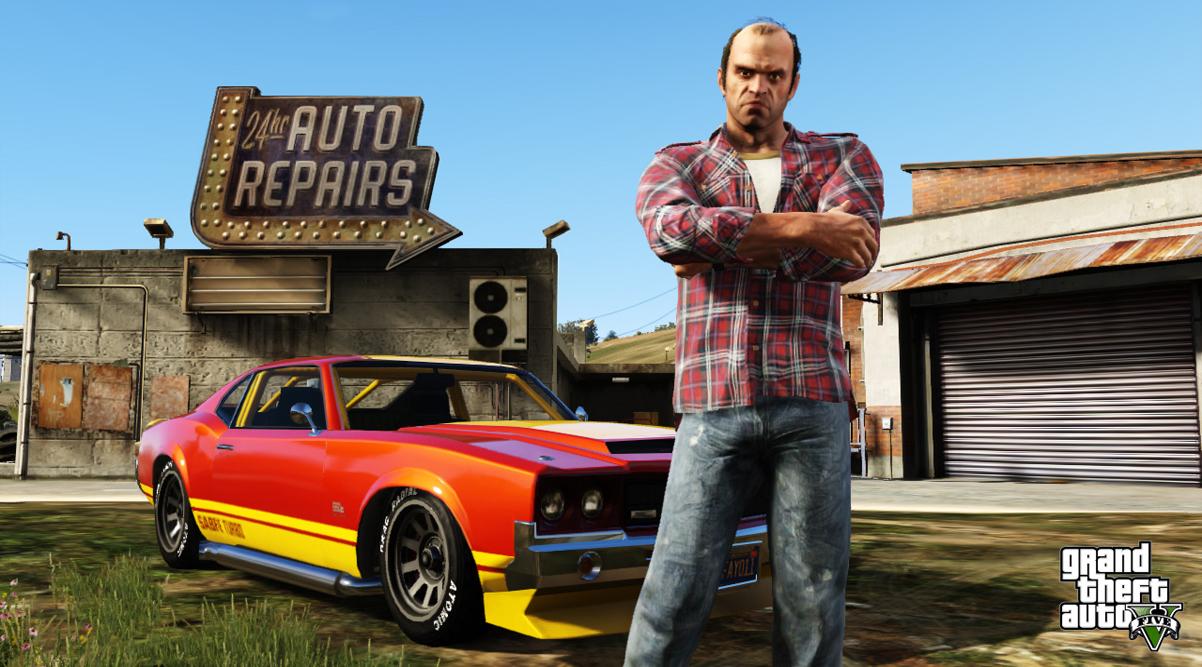 GTA 5 перезапуск