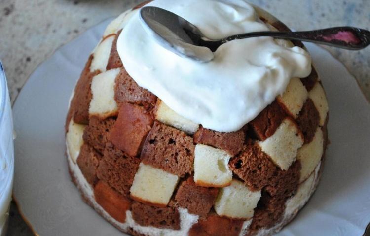 Торт панчо рецепт с ананасами фото пошагово