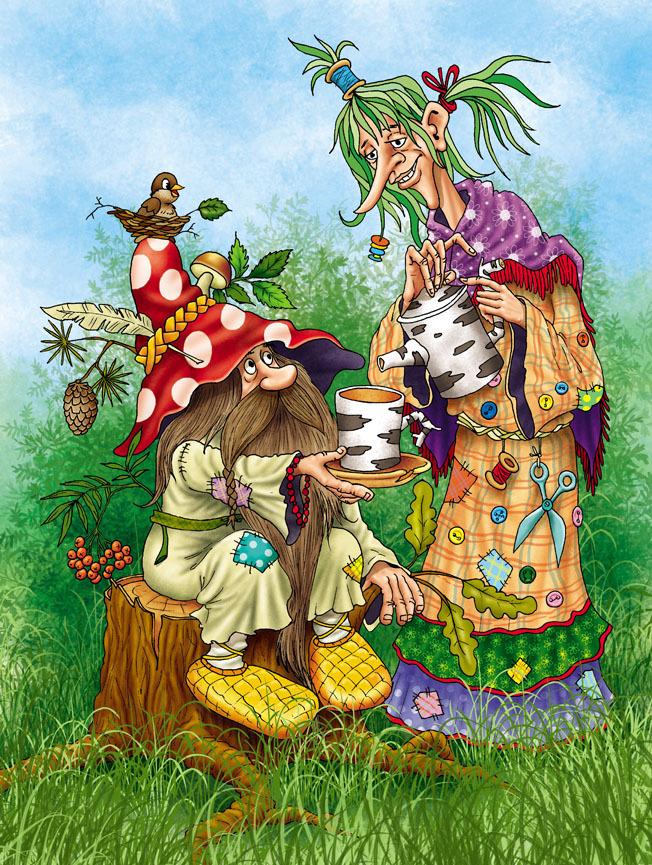 Смешные картинки русских сказок